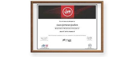 Сертификат ViPR