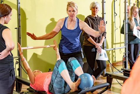 Pilates Weekend с Ann McMillan