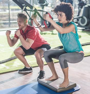Тренировка на баланс